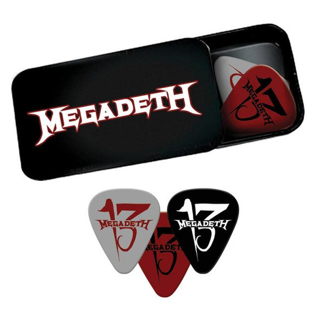 Megadeth Guitar Pic Set & Tin