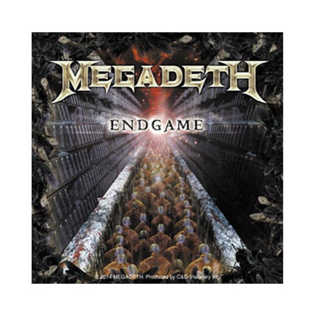 Megadeth Engame Sticker