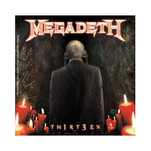 Megadeth Th1rT3en Sticker