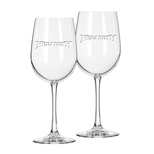 Megadeth Wine Glass Set