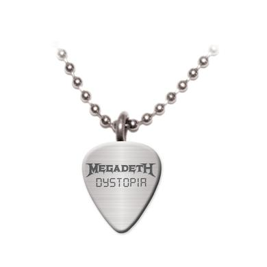 Megadeth Dystopia Pick Necklace