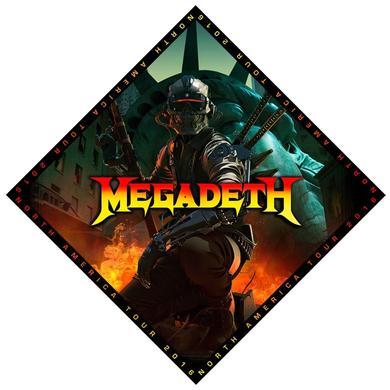 Megadeth Vic 2016 Tour Bandana