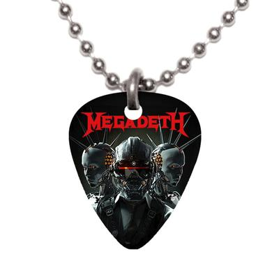 Megadeth Vic Robot Pick Necklace