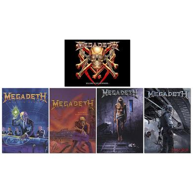 Megadeth Album Greeting Cards -Set of 5