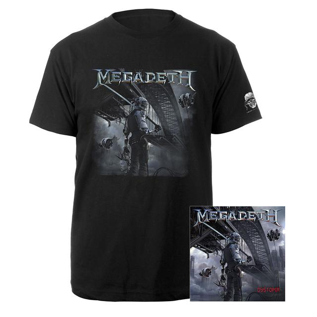 Megadeth Dystopia CD & Tee