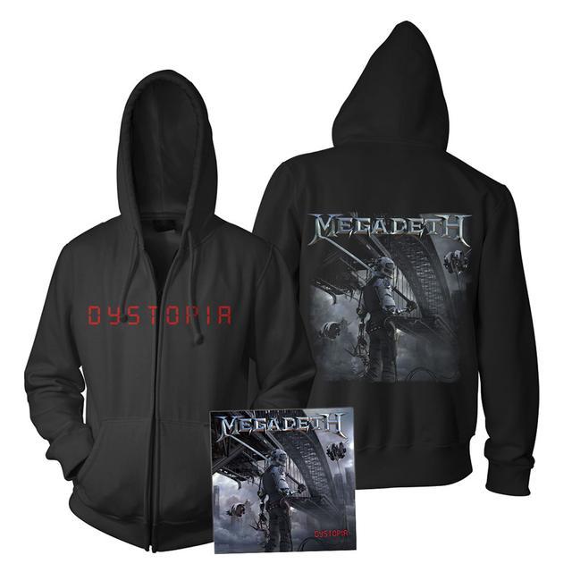 Megadeth Dystopia CD & Hoodie