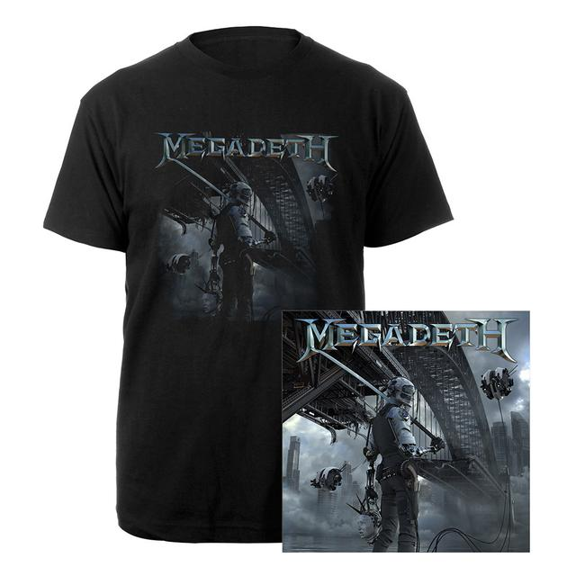 Megadeth Dystopia Colored Vinyl & Tee