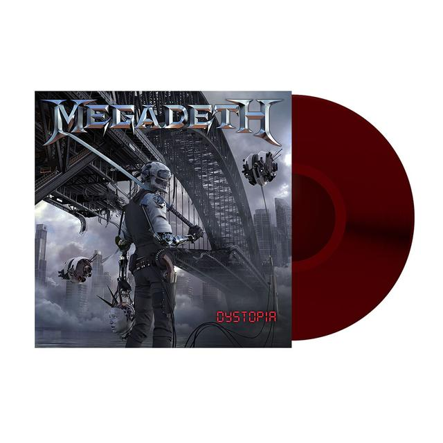 Megadeth Dystopia Colored Vinyl