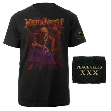 Megadeth Peace Sells... But Who's Buying? 30th Anniversary Limited Edition Bundle