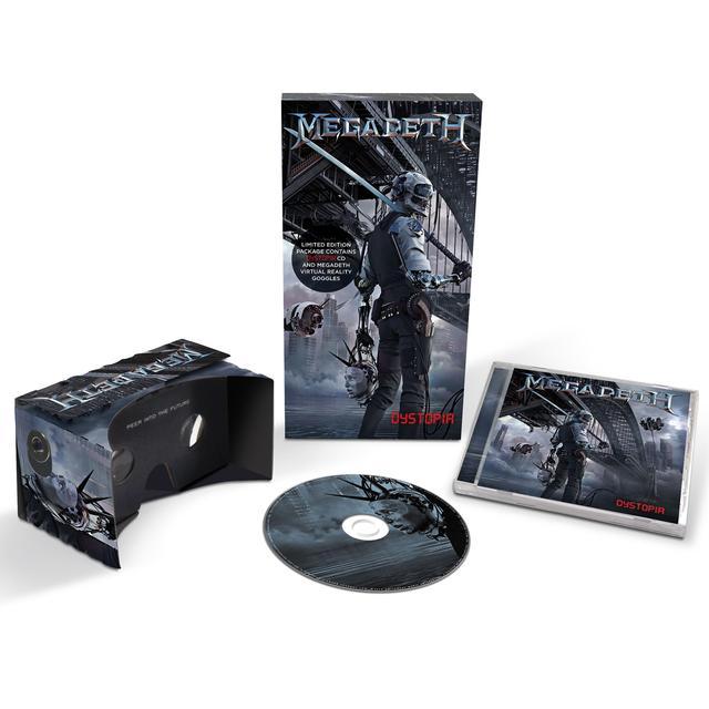 Megadeth Deluxe Edition (CD + VirtualReality Goggles)