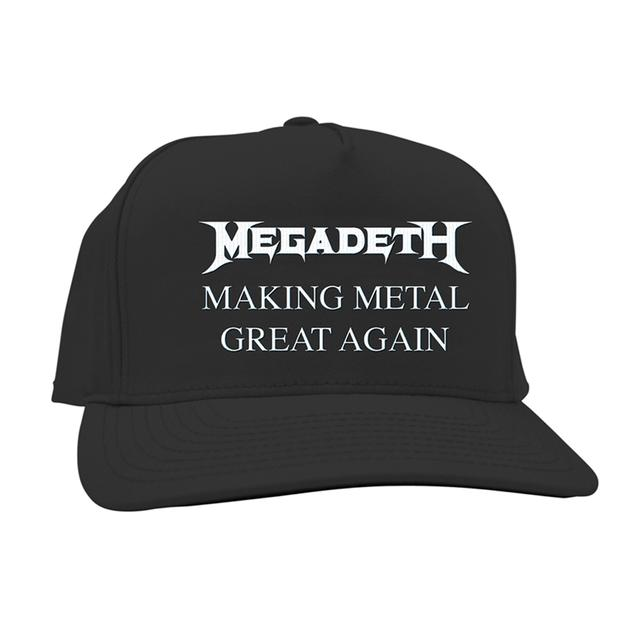 Megadeth Making Metal Great Again Black Hat