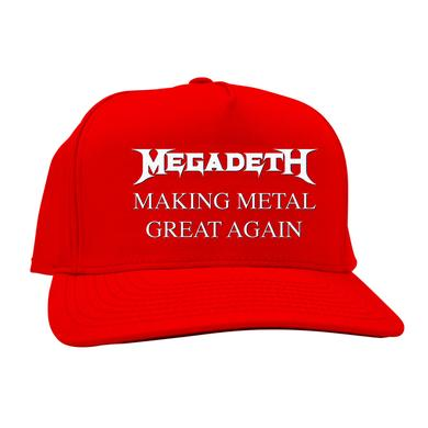 Megadeth Making Metal Great Again Red Hat
