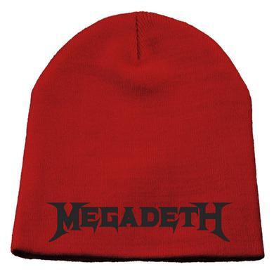 Megadeth Logo Knit Beanie