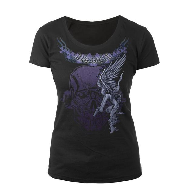 Exclusive - Megadeth Ladies Cap-Sleeve Scoop Neck