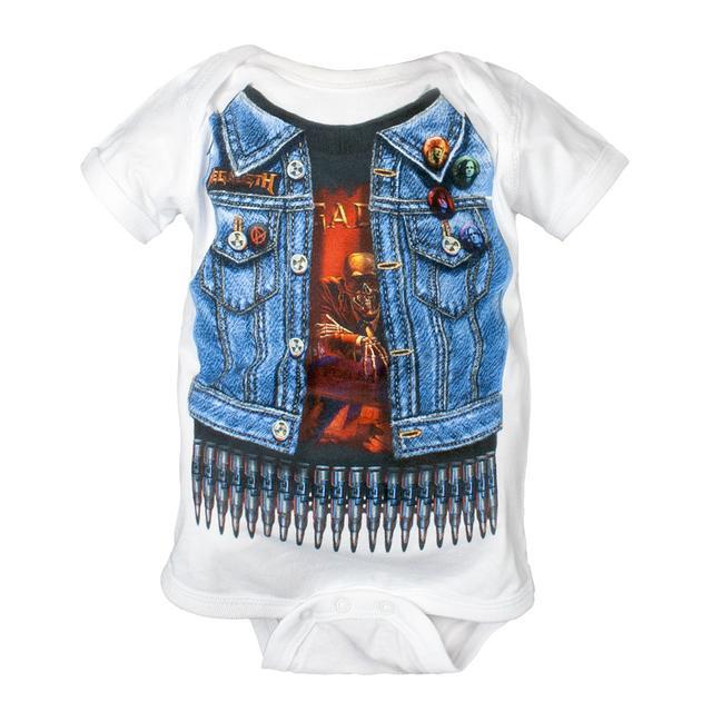Megadeth Baby Onesie