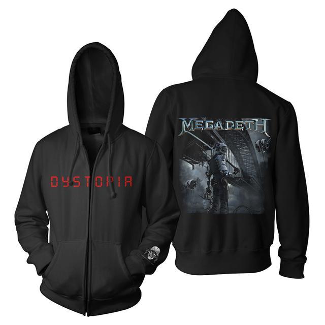 Megadeth Dystopia Hoodie