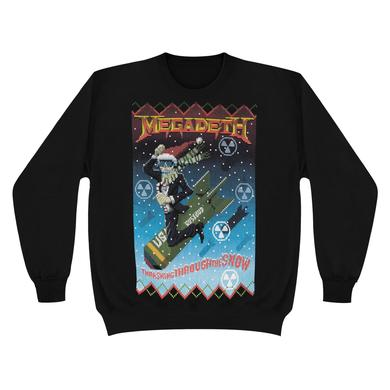 Megadeth Thrashing Through the SnowCrew Sweater