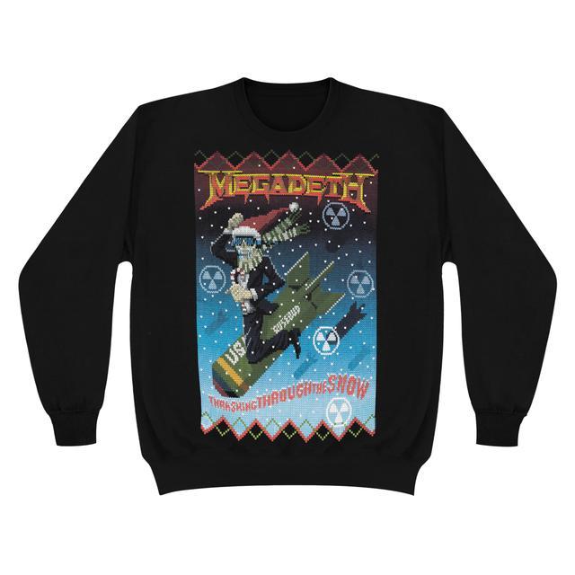 Megadeth Thrashing Through the SnowCrew Sweater