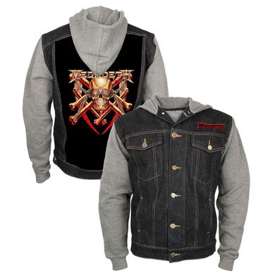 Megadeth Vic Denim and Fleece Jacket