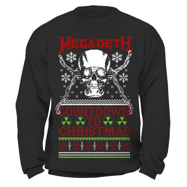 Megadeth Countdown to Christmas Sweatshirt