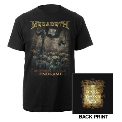 Megadeth Endgame Lyric Tee