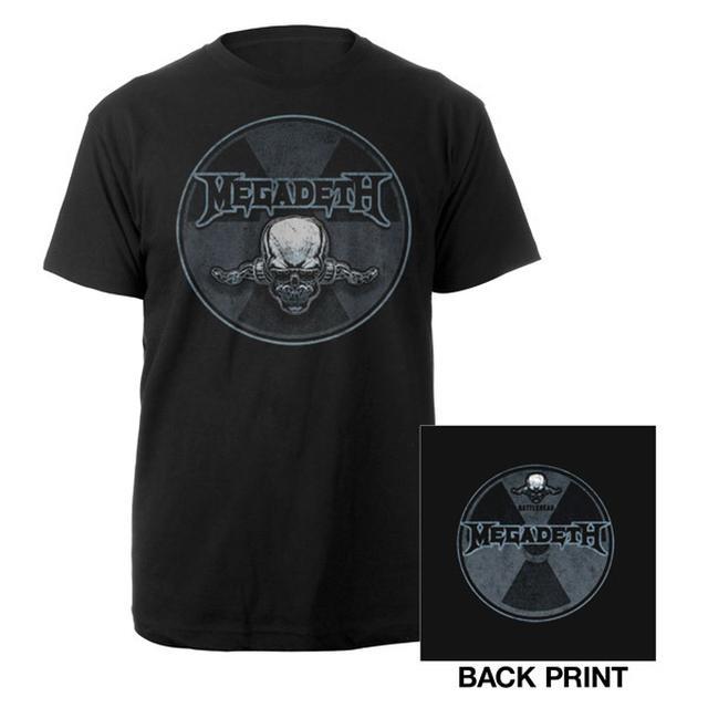 Megadeth Rattlesnake Tee