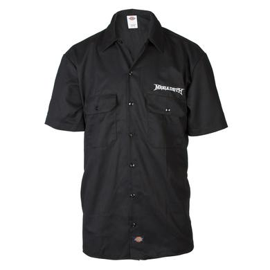 Exclusive - Megadeth Dickies Work Shirt