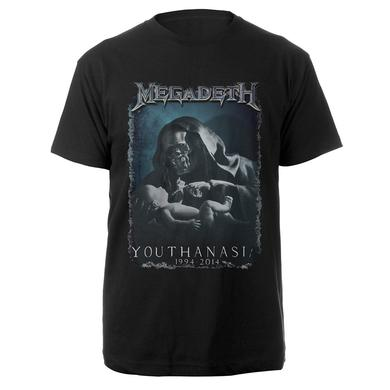 Megadeth 20th Anniversary Youthanasia Tee
