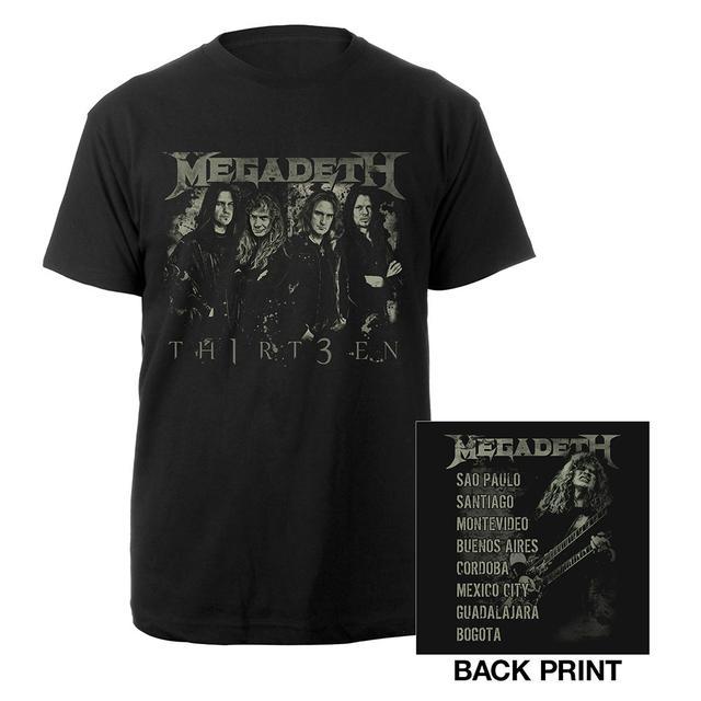 Megadeth Tour Tee