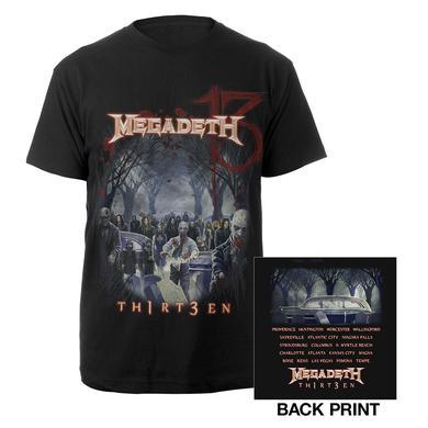 Megadeth Zombie Tour Tee