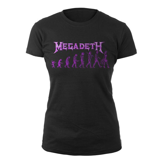 Megadeth Women's Evolution Tee