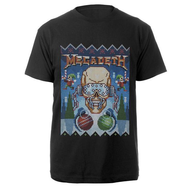 Ugly Megadeth Christmas Tee