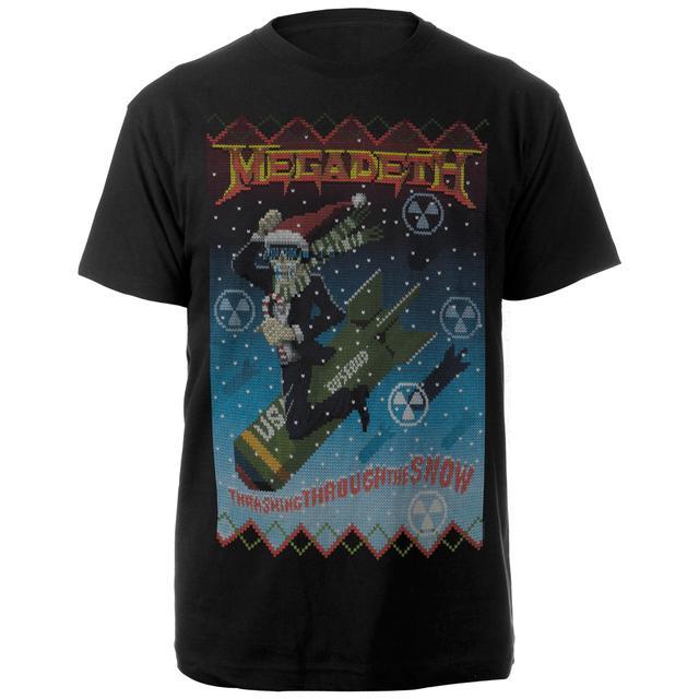 Megadeth Thrashing Through the SnowTee