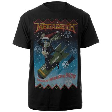 Megadeth Thrashing Through the SnowTee