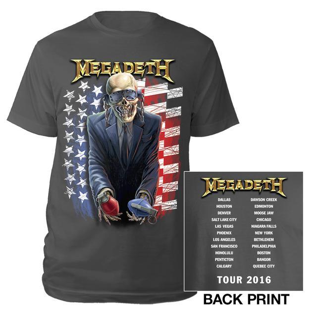 Megadeth United Vic Itin Tee
