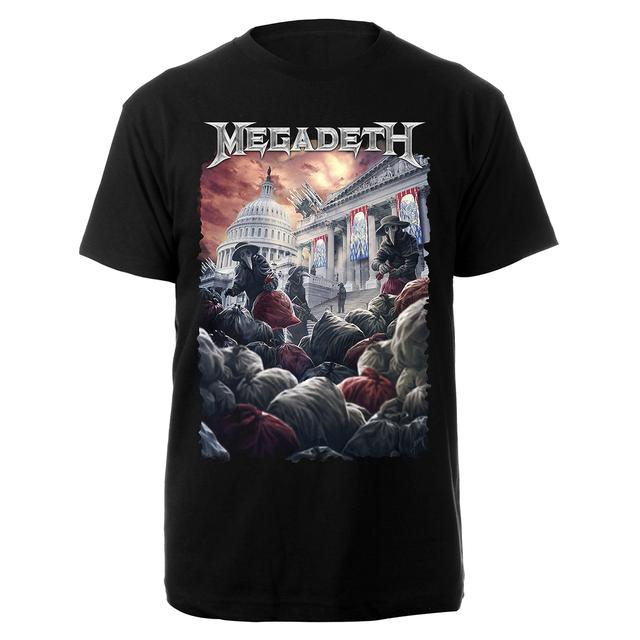 Megadeth Plague Doctor Tee