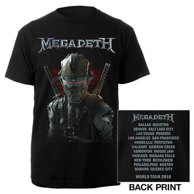 Megadeth Vic Samurai Itin Tee