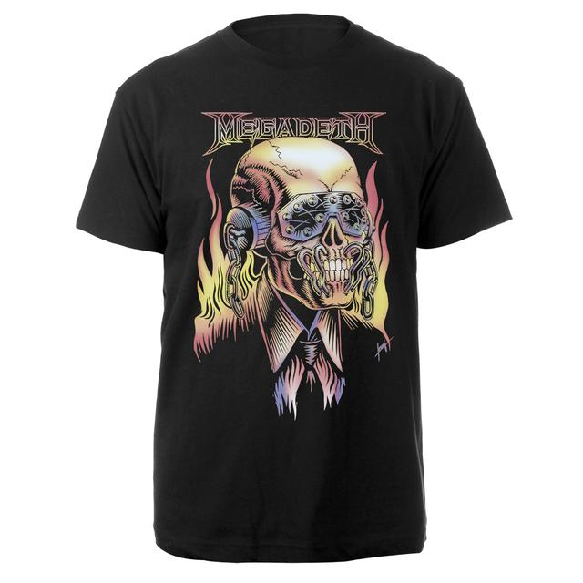Megadeth Burning Vic Tee