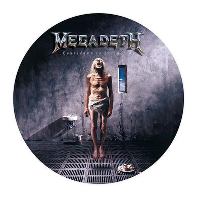 Megadeth Countdown To Extinction Picture Disc Vinyl