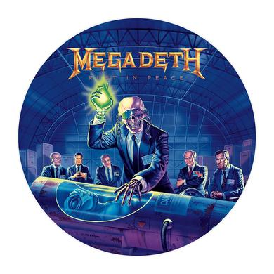 Megadeth Rust In Peace Picture Disc Vinyl