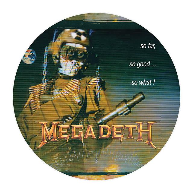 Megadeth So Far, So Good, So What Picture Disc Vinyl