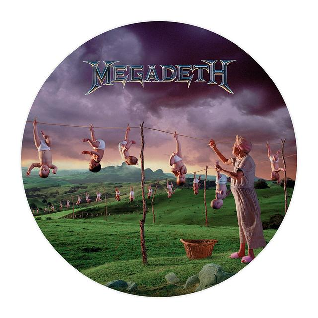 Megadeth Youthanasia Picture Disc Vinyl