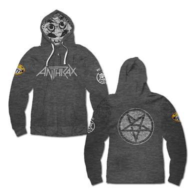 Anthrax NOTMAN CUT & SEW HOODIE