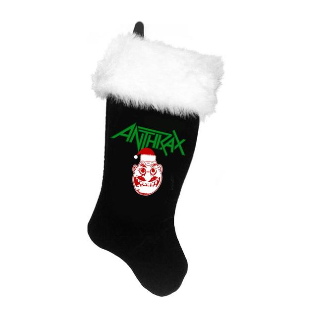 Anthrax SANTA NOTMAN STOCKING