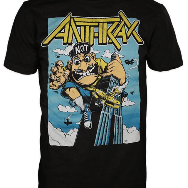 Anthrax KING NOT MAN TSHIRT