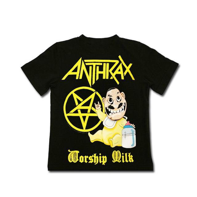 Anthrax WORSHIP MILK TODDLER TEE