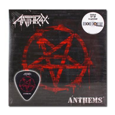 Anthrax ANTHEMS - WHITE VINYL BUNDLE