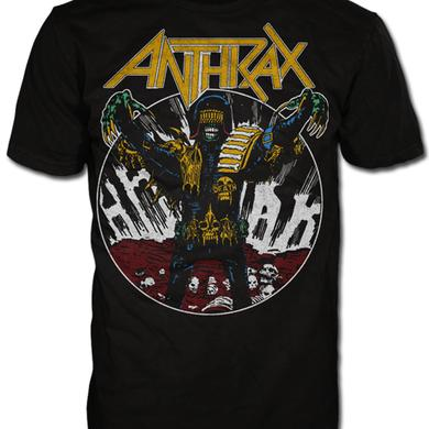 Anthrax JUDGE DEATH VINTAGE TEE