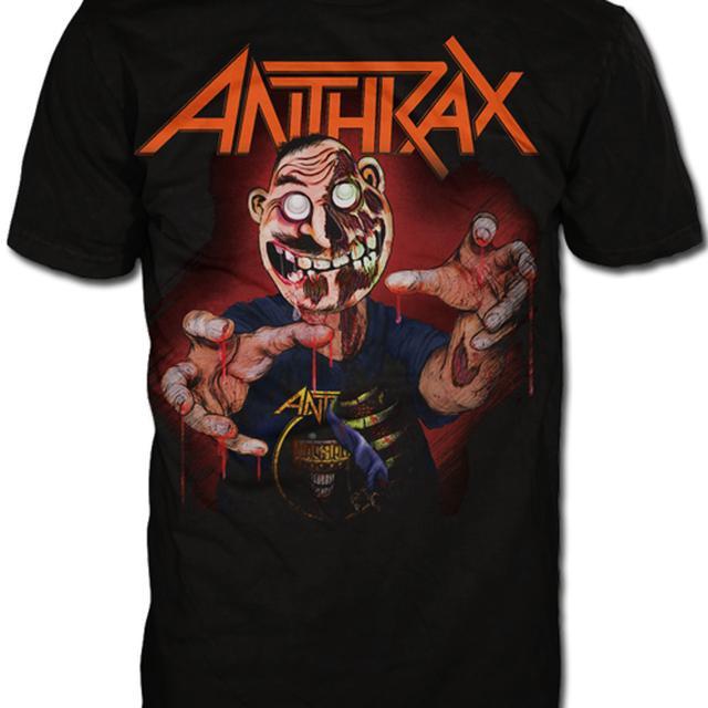 Anthrax NOTMAN ZOMBIE TEE