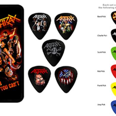 Anthrax PICK TIN SET